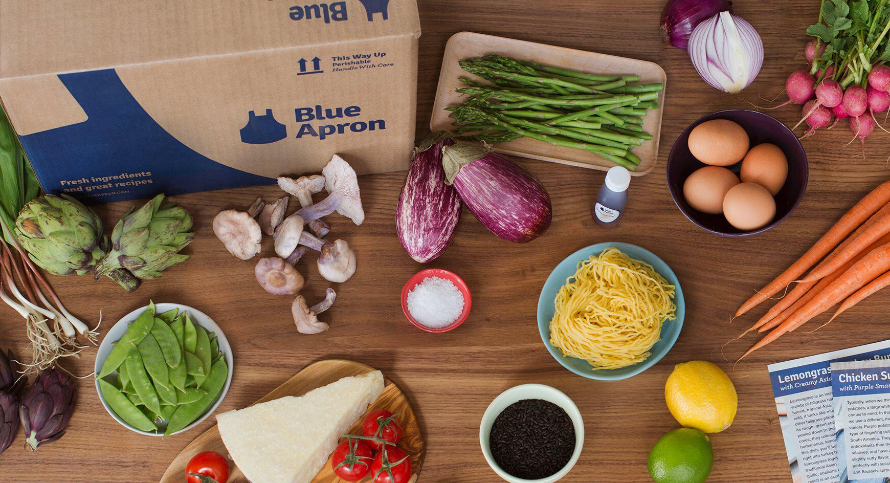 Blue apron operations