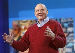 Microsoft's Steve Ballmer recently announced his intent to step down as CEO within 12 months. / Photo by Microsoft Sweden