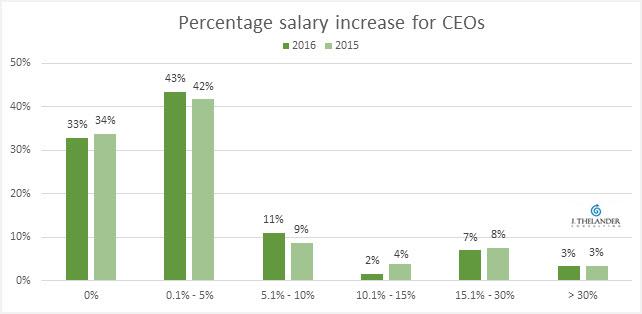 CEO merit increase