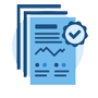 Due diligence report icon