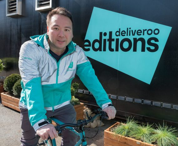 Deliveroo lands $575M in Amazon-led round