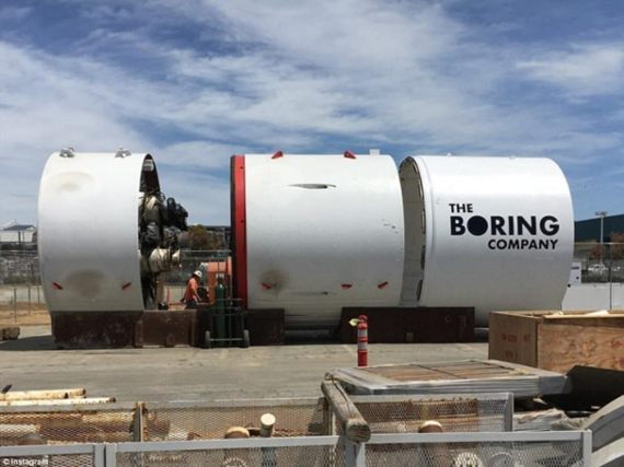 Elon Musk's tunnel-boring company raises $112.5M