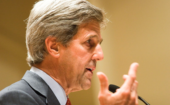 TPG adds John Kerry to $2B Rise Fund