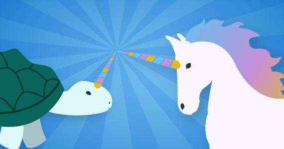 Racehorses & unitortoises: Visualizing the outliers among US unicorns