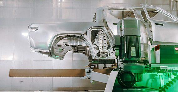 Rivian's motor runs on R&D