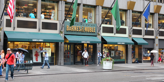 Activist investor urges new chapter at Barnes & Noble