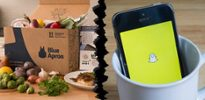 Snap, Blue Apron shares plunge as IPO hype fades