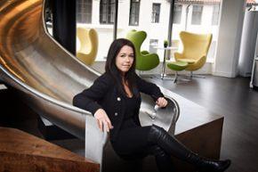 How many billion-dollar companies have female founders?