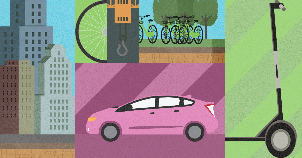 What does the next generation of urban mobility look like?