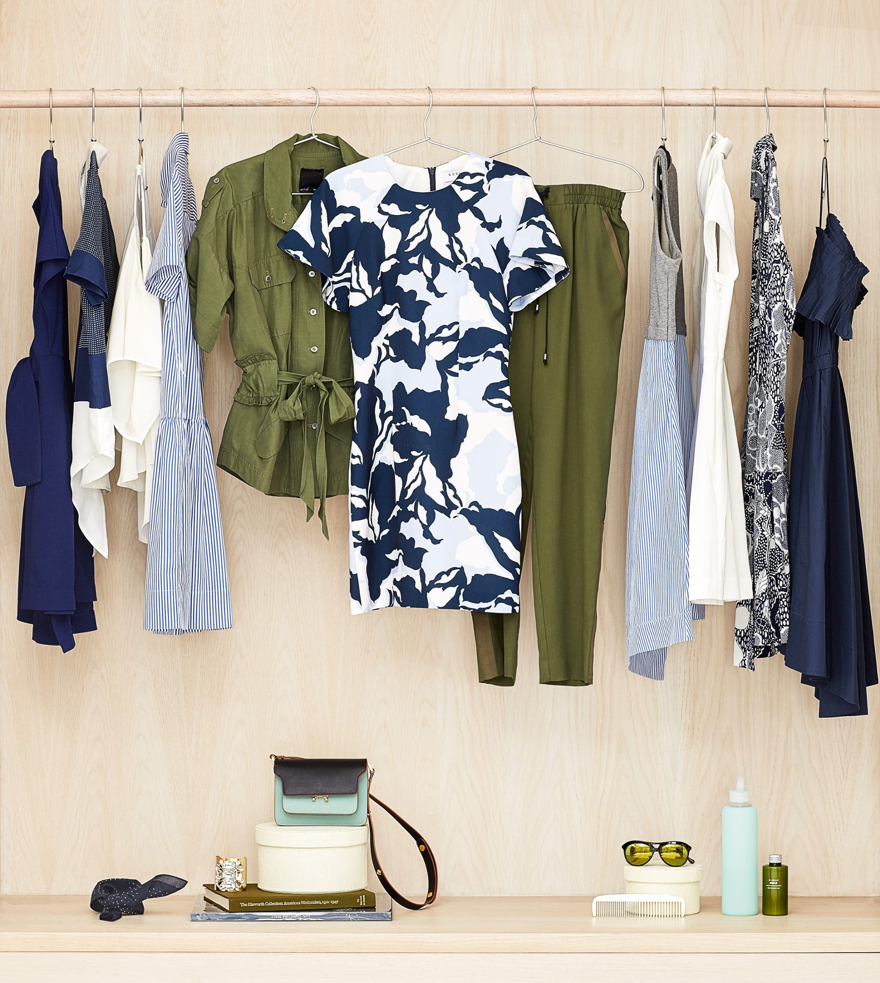 Rent the Runway's outfit selections
