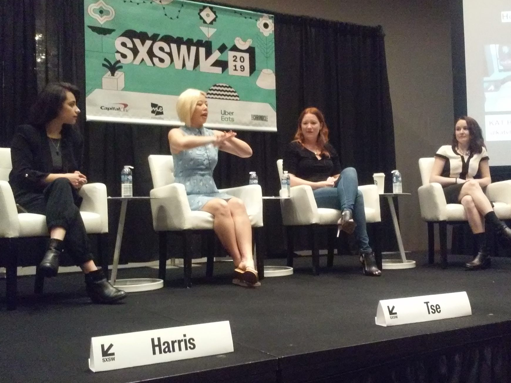 Panelists from SXSW 2019's VR and AR session