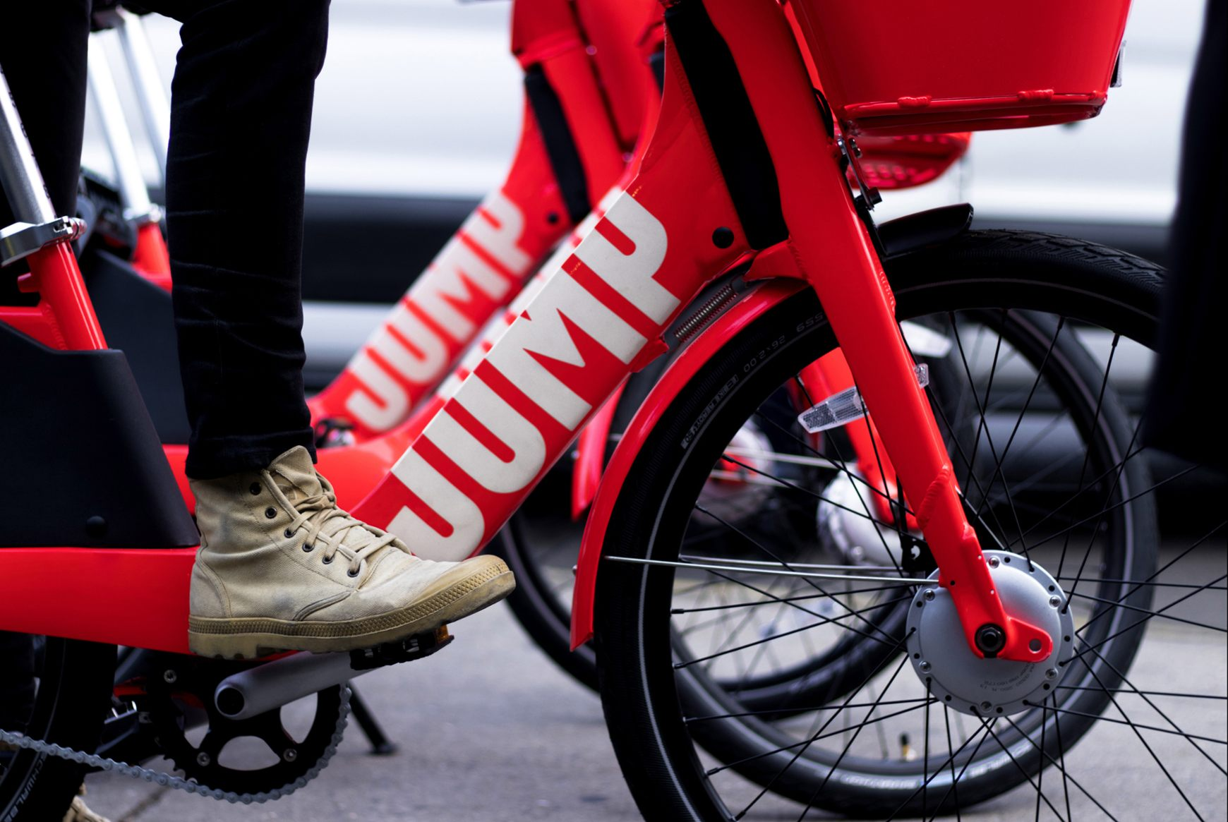 Uber's acquisition of Jump bikes