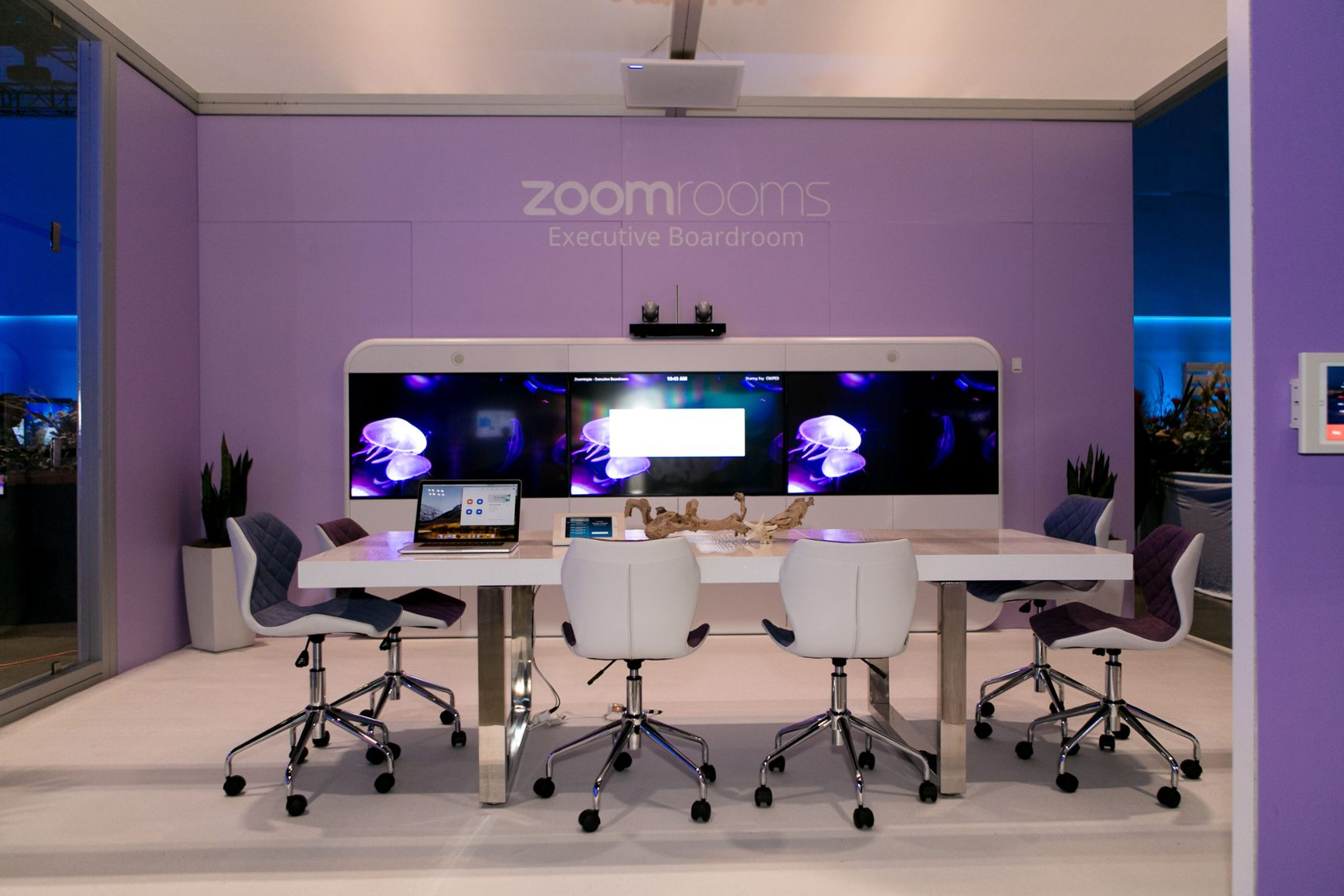 Zoom offers video conferencing solutions for enterprises