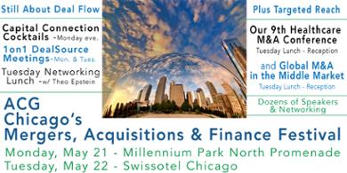 ACG Chicago Mergers, Acquisitions & Finance Festival