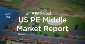 Surging PE deal value in US middle market