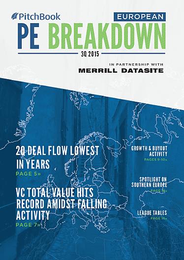 European Private Equity Breakdown Report