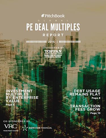 Global PE Deal Multiples Report: I