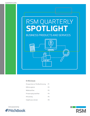 RSM US & PitchBook Spotlight on B2B?uq=2zON1W4M