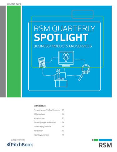 RSM US & PitchBook Spotlight on B2B?uq=2zON1W4M