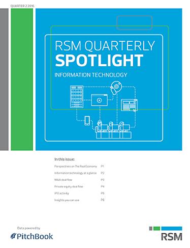 RSM US & PitchBook Spotlight on Information Technology?uq=2zON1W4M
