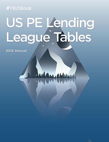 US PE Lending League Tables