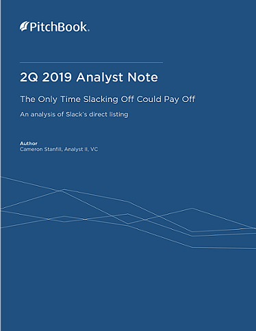 PitchBook Analyst Note: The Only Time Slacking Off Could Pay Off