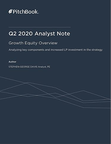 PitchBook Analyst Note: Growth Equity Overview