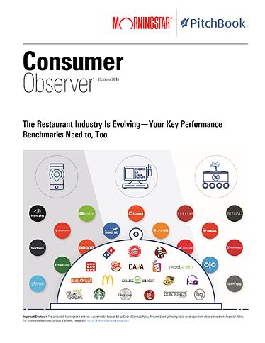 Morningstar-PitchBook Consumer Observer: October 2018