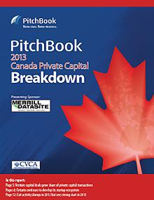 Canada Private Capital Breakdown