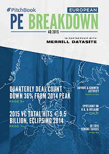 European Private Equity Breakdown