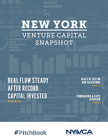 New York Venture Capital Snapshot