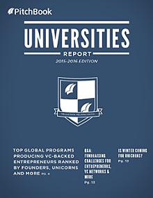 PitchBook Universities Report