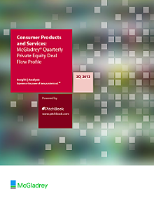 McGladrey's Private Equity Deal Flow Profile: Consumer Products and Services