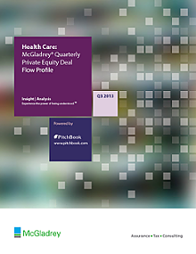 McGladrey & PitchBook Spotlight on Healthcare