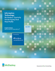 McGladrey & PitchBook Spotlight on Information Technology