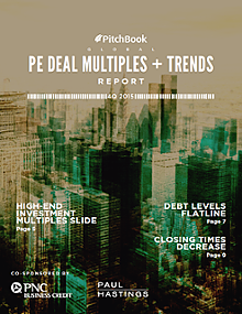 Global PE Deal Multiples & Trends Report