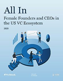 All In: Female Founders and CEOs in the US VC Ecosystem