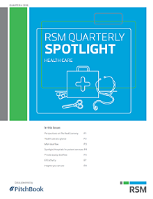 RSM US & PitchBook Spotlight on Healthcare