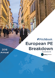 Annual European PE Breakdown
