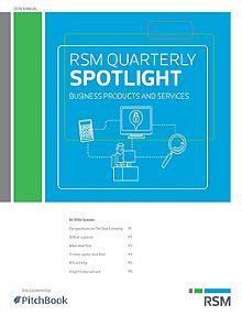RSM US & PitchBook Spotlight on B2B