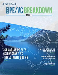 Canada PE & VC Breakdown: I