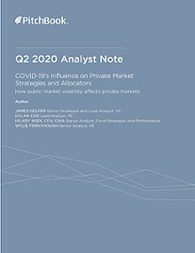 PitchBook Analyst Note: COVID-19's Influence on Private Market Strategies and Allocators