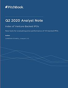 PitchBook Analyst Note: Index of Venture-Backed IPOs