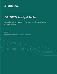 PitchBook Analyst Note: Accelerating History: Pandemic-Driven Tech Opportunities