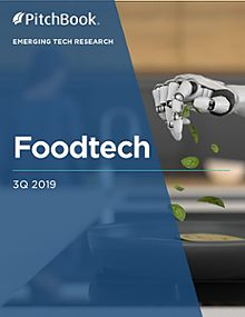 Emerging Tech Research: Foodtech