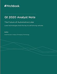 PitchBook Analyst Note: The Future of Automotive Lidar