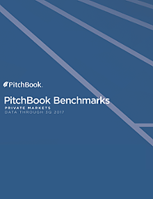 PitchBook Benchmarks (as of 3Q 2017)