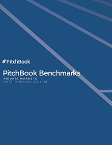 PitchBook Benchmarks (as of 3Q 2018)