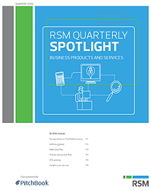 RSM US & PitchBook Spotlight on B2B