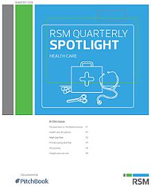 RSM US & PitchBook Spotlight on Healthcare